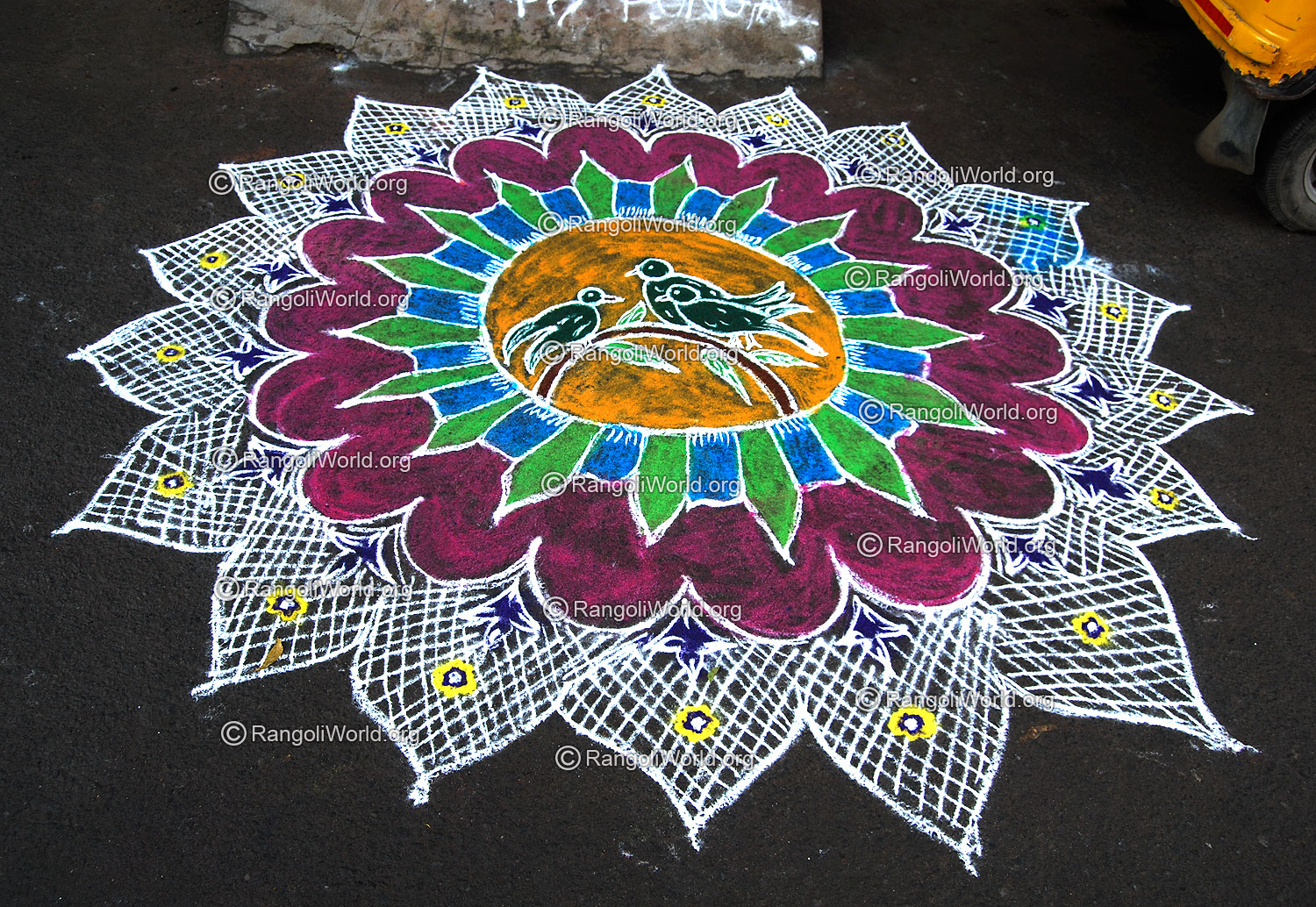 25 Pulli Kolam Dots With Color   Search Results   Calendar 2015