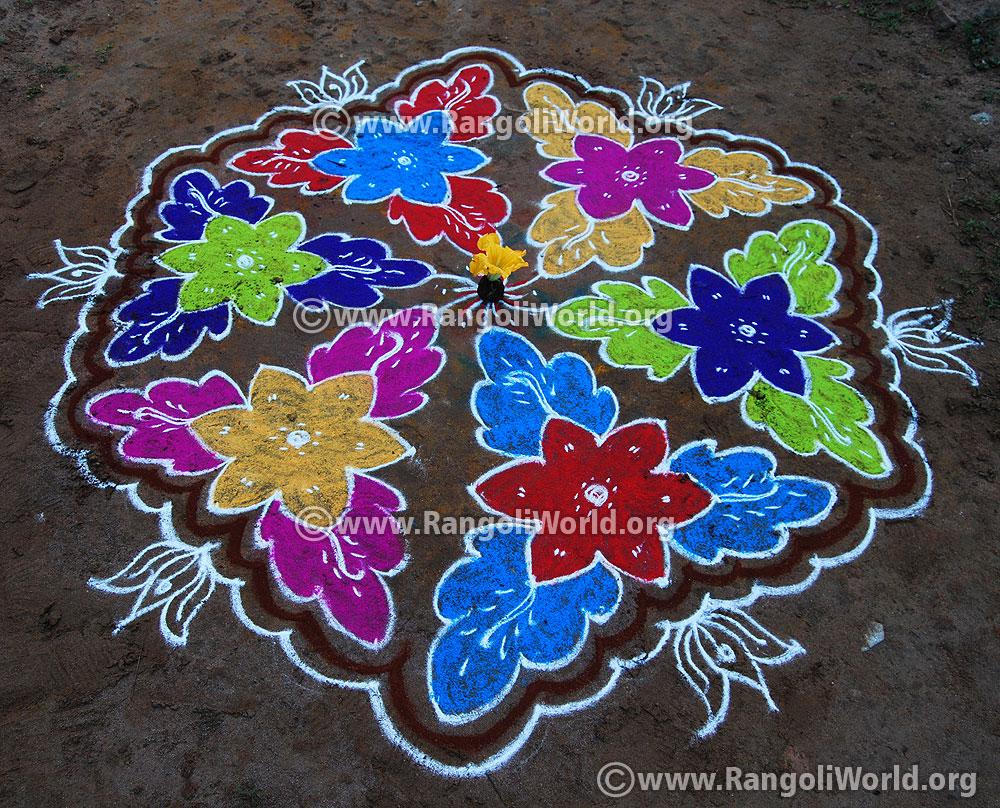 Rangoli \u0026 Kolam