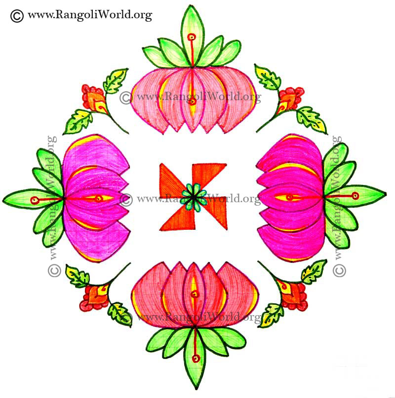 16 Best Pongal Kolam Designs That You Should Try In 2019 16 Best Pongal Kolam Designs That You Should Try In 2019 new images