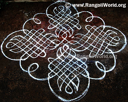 15-1 parallel dots sikku kolam