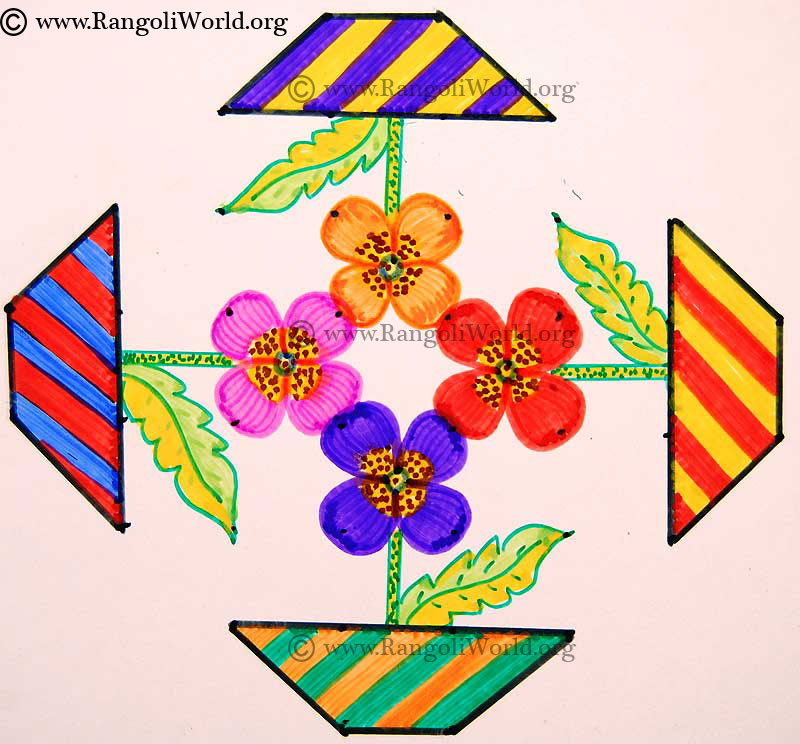 flower pot kolam jun13