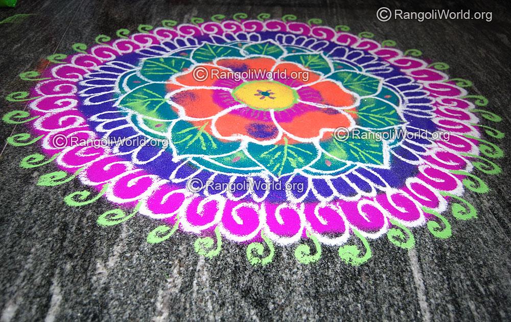 maha shivaratri festival 2016 special rangoli designs
