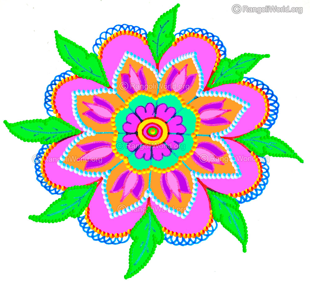 margazhi festival freehand rangoli designs 2016 collection