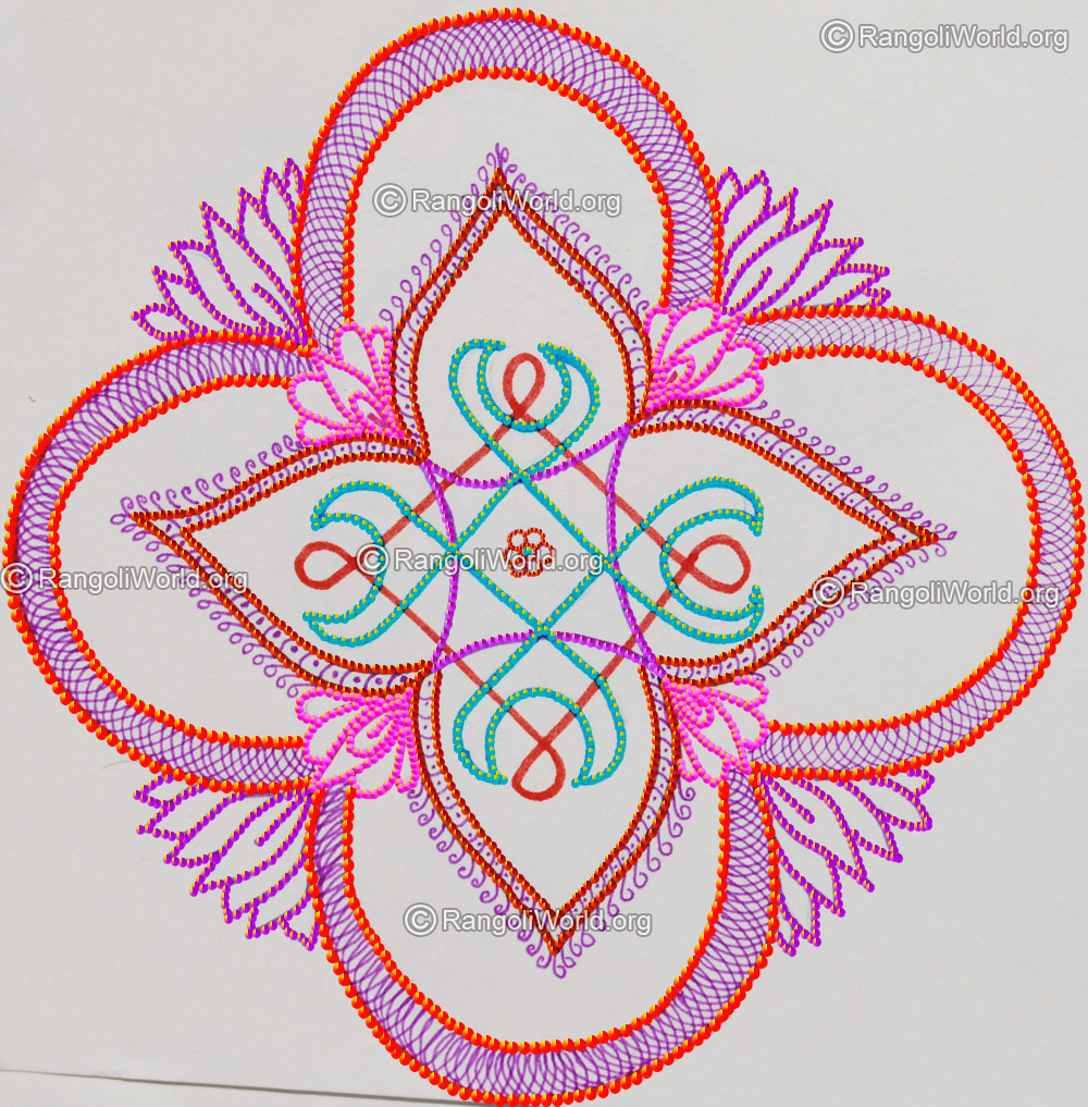 New year rangoli designs 2016 gallery for New design pic