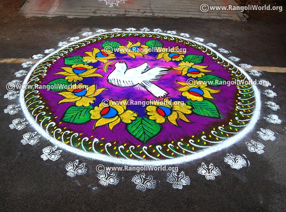 New Year Rangoli Design Gallery Website