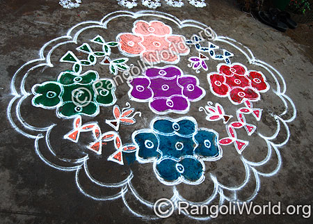 Pongal Rangoli 2014 Collection 3