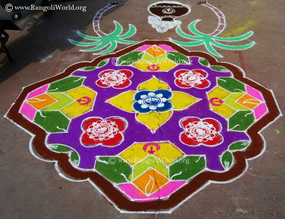 Pongal Rangoli114 Jan13