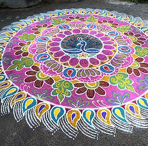 3000+ Rangoli & Kolam designs